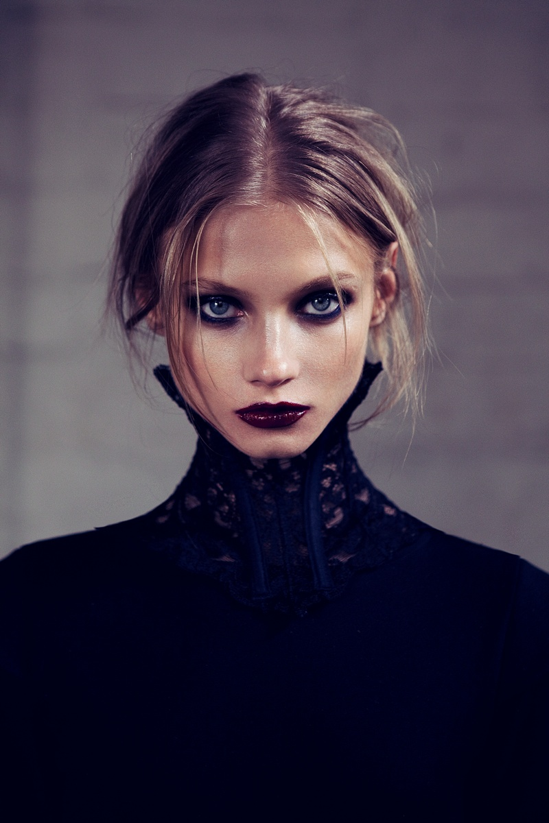 for love lemons vampire lb11 Anna Selezneva Gets Gothic in For Love & Lemons Fall 2013 Ads