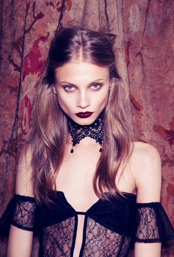 for love lemons vampire lb17 Anna Selezneva Gets Gothic in For Love & Lemons Fall 2013 Ads