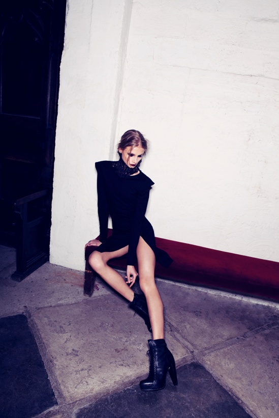 for love lemons vampire lb21 Anna Selezneva Gets Gothic in For Love & Lemons Fall 2013 Ads