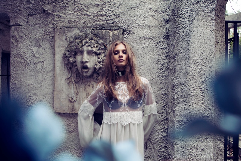 for love lemons vampire lb25 Anna Selezneva Gets Gothic in For Love & Lemons Fall 2013 Ads