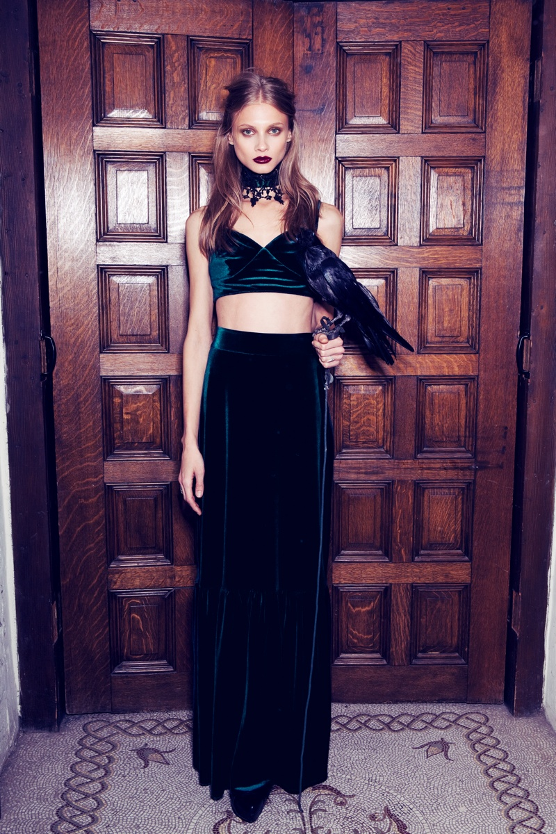 for love lemons vampire lb5 Anna Selezneva Gets Gothic in For Love & Lemons Fall 2013 Ads