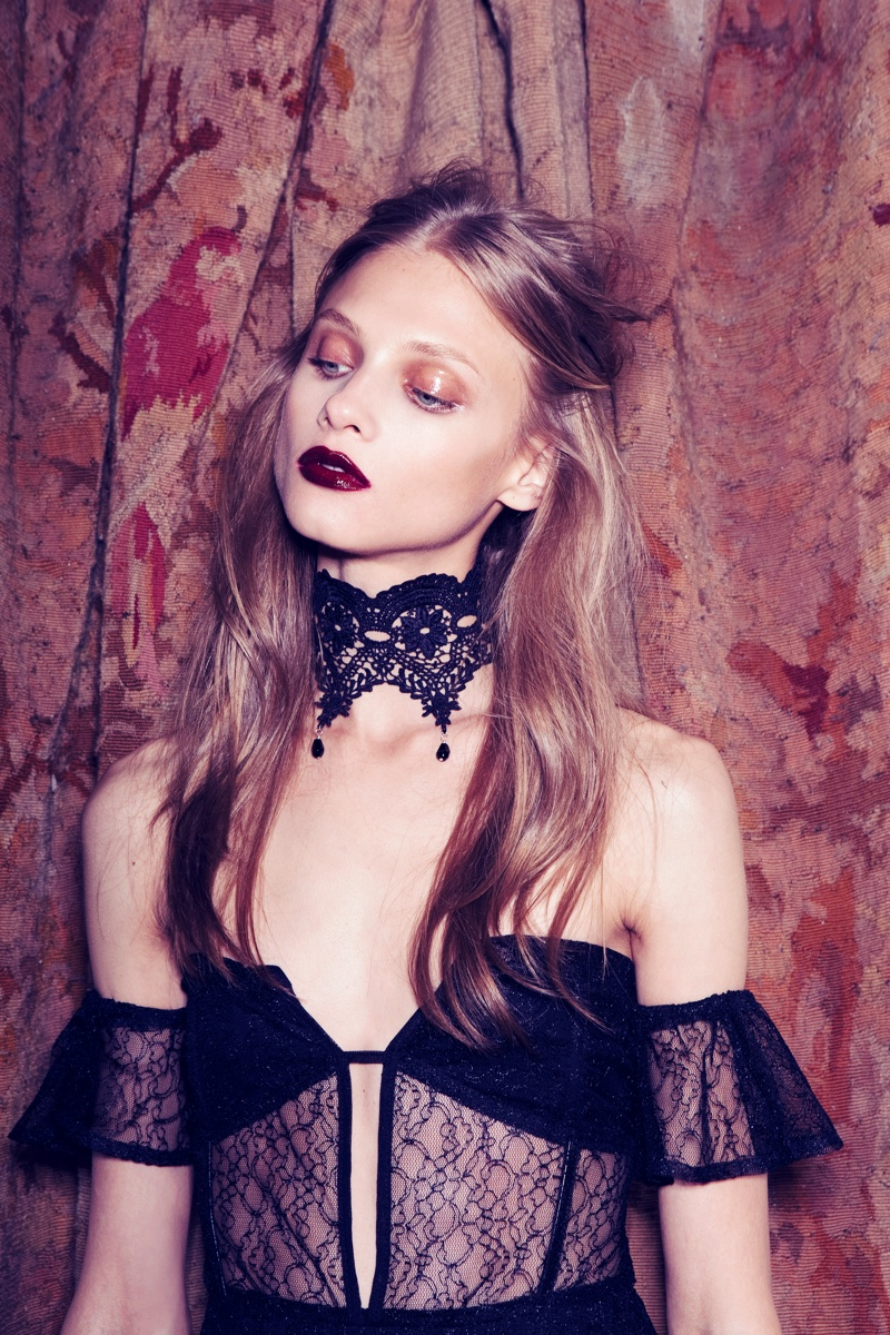 for love lemons vampire lb6 Anna Selezneva Gets Gothic in For Love & Lemons Fall 2013 Ads