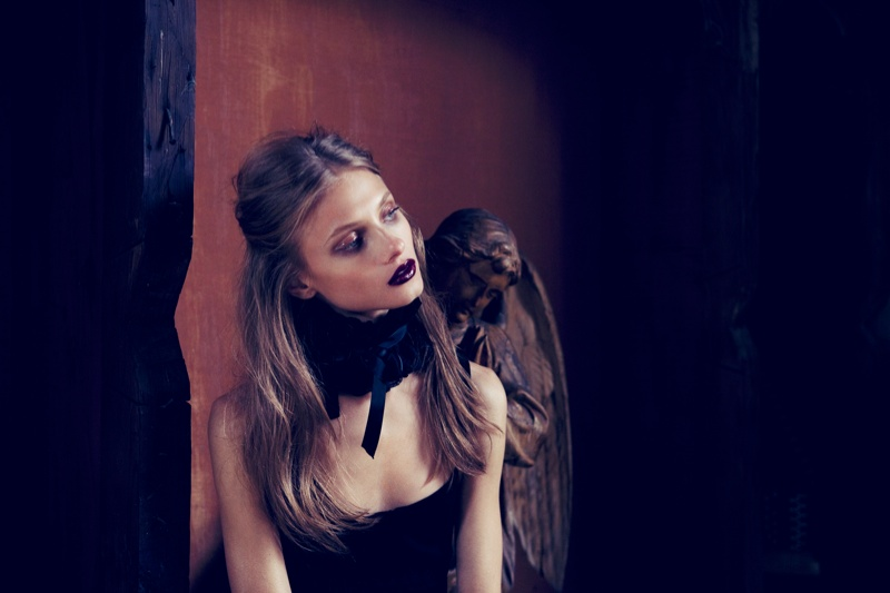 for love lemons vampire lb7 Anna Selezneva Gets Gothic in For Love & Lemons Fall 2013 Ads
