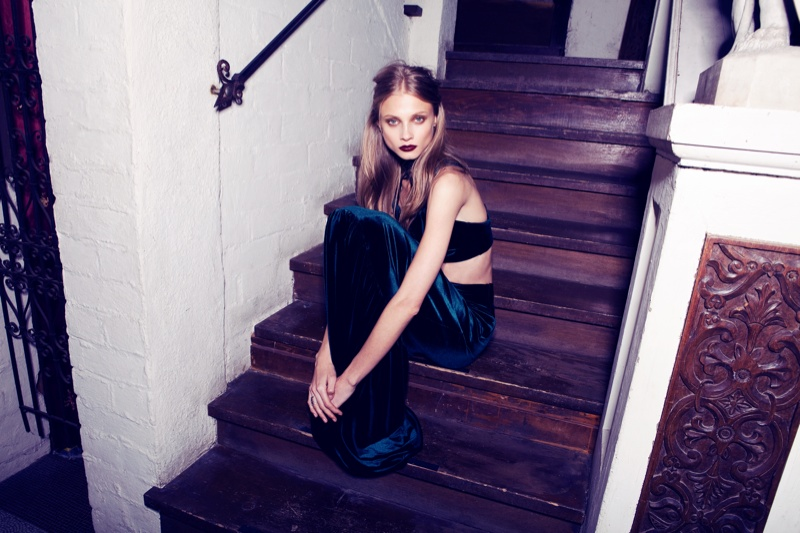 for love lemons vampire lb9 Anna Selezneva Gets Gothic in For Love & Lemons Fall 2013 Ads