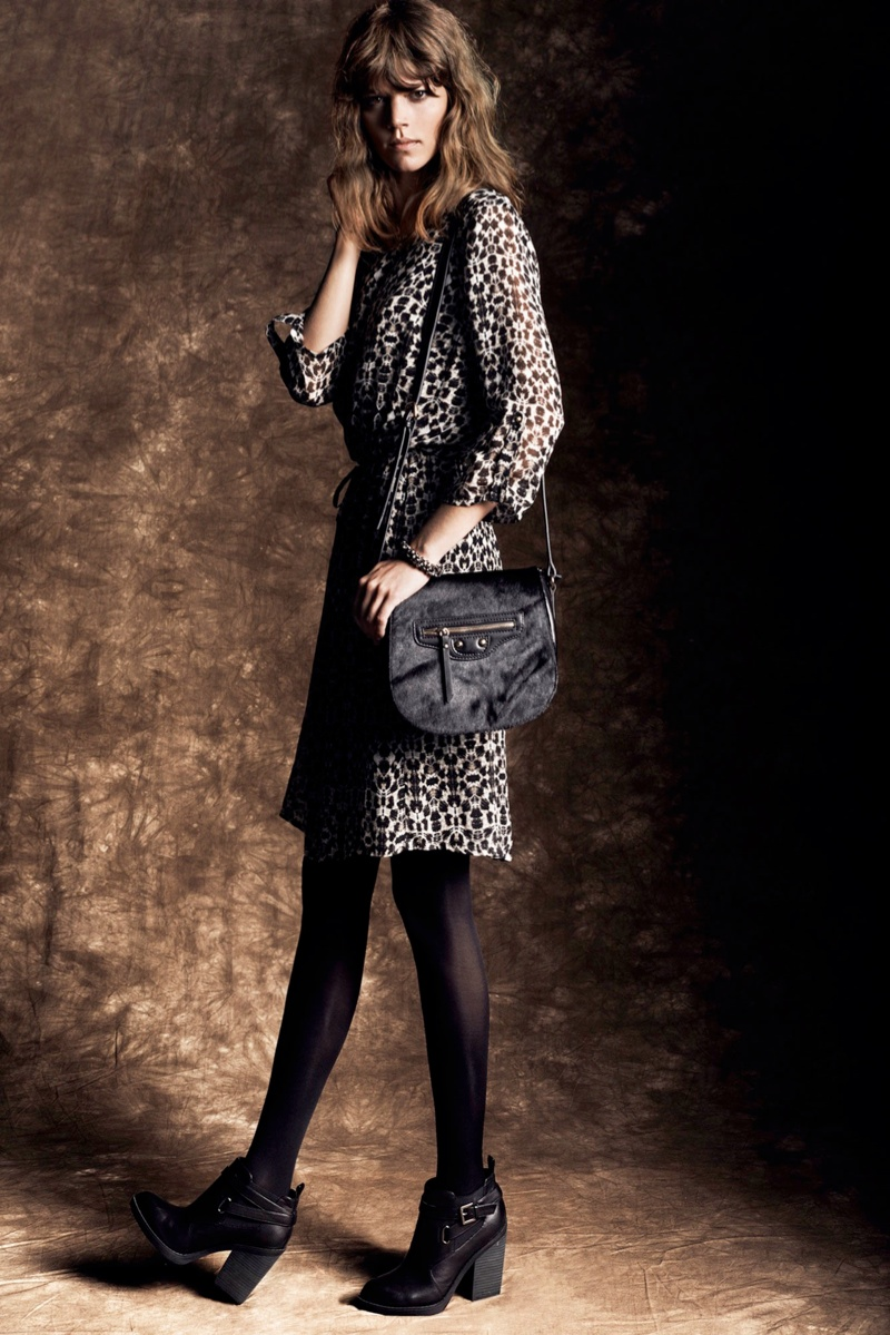 freja reserved lb7 Freja Beha Erichsen Stars in Reserveds Fall 2013 Lookbook