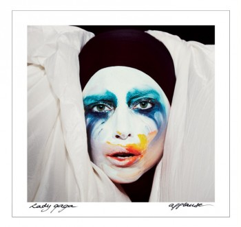 "Lady Gaga Poses for Inez & Vinoodh on ""Applause"" Single Cover"