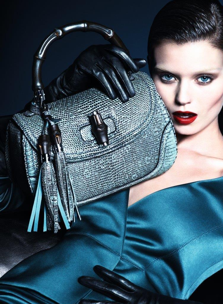 gucci fall ads2 Abbey Lee Kershaw Makes Her Return with Guccis Fall 2013 Campaign