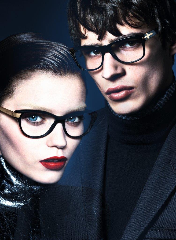 gucci fall ads5 Abbey Lee Kershaw Makes Her Return with Guccis Fall 2013 Campaign