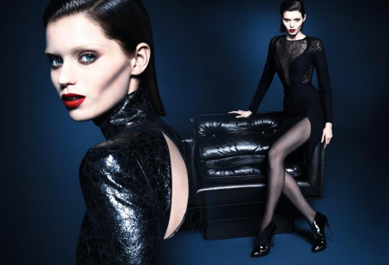 gucci fall ads7 800x544 Abbey Lee Kershaw Makes Her Return with Guccis Fall 2013 Campaign