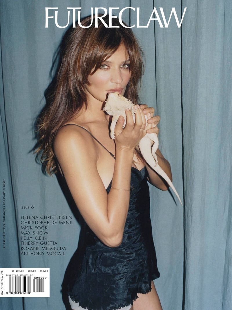 Helena Christensen Covers FutureClaw #6