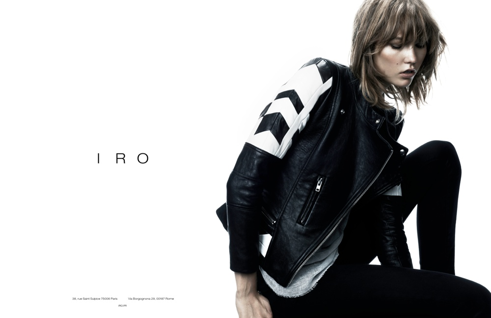 Karlie Kloss is Effortlessly Cool in Iro's Fall 2013 Ads