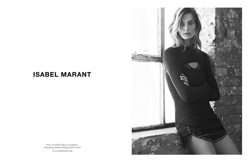 isabel marant fall campaign2 Isabel Marant Taps Daria Werbowy for Fall 2013 Campaign
