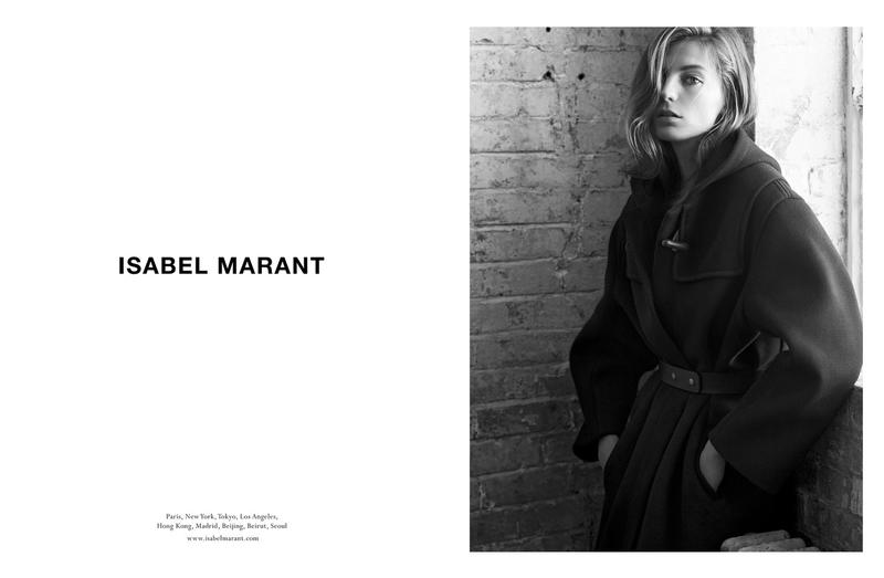 isabel marant fall campaign3 Isabel Marant Taps Daria Werbowy for Fall 2013 Campaign