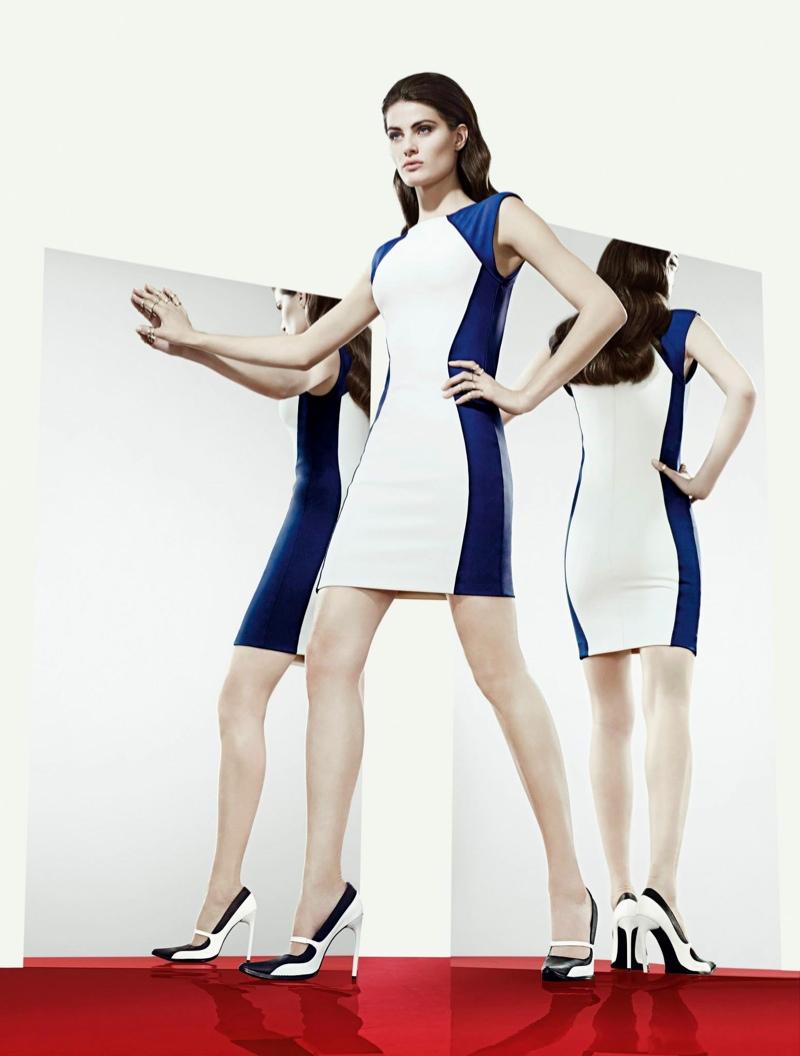 isabeli tufi duek ad2 Isabeli Fontana Lands Tufi Duek Spring 2014 Campaign