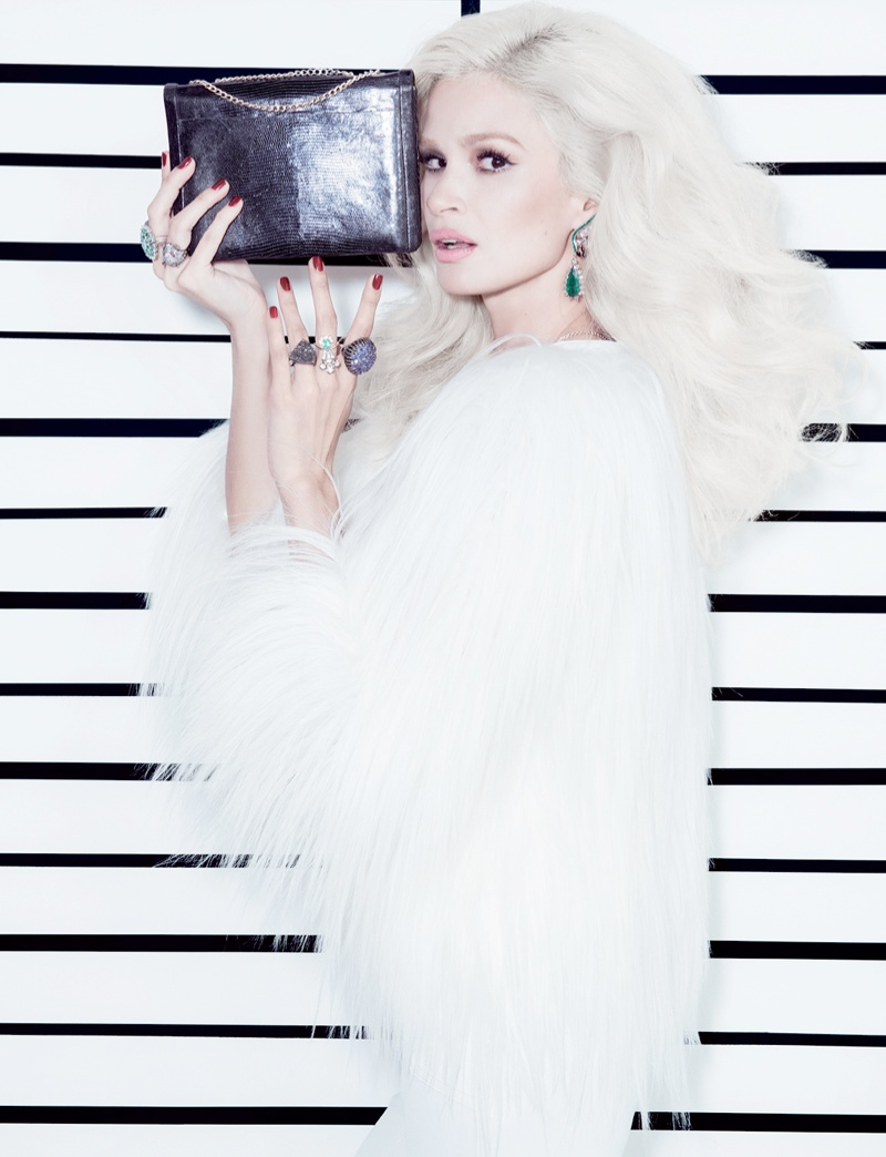Carol Ribeiro Plays a Chic Jailbird in OF Magazine by Jacques Dequeker