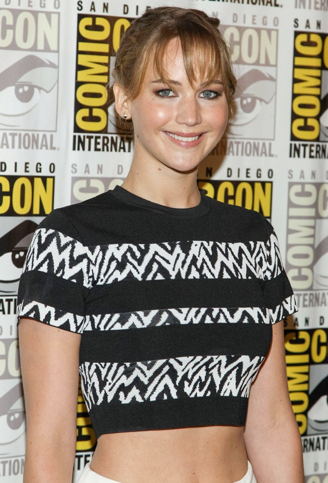 jennifer proenza2 Jennifer Lawrence Wears Proenza Schouler at San Diego Comic Con