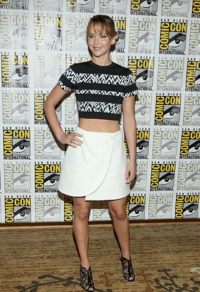 jennifer proenza3 Jennifer Lawrence Wears Proenza Schouler at San Diego Comic Con