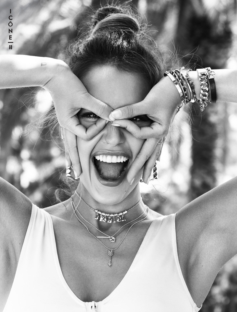 Jessica Alba Stars in Glamour France August 2013 by Jason Kim