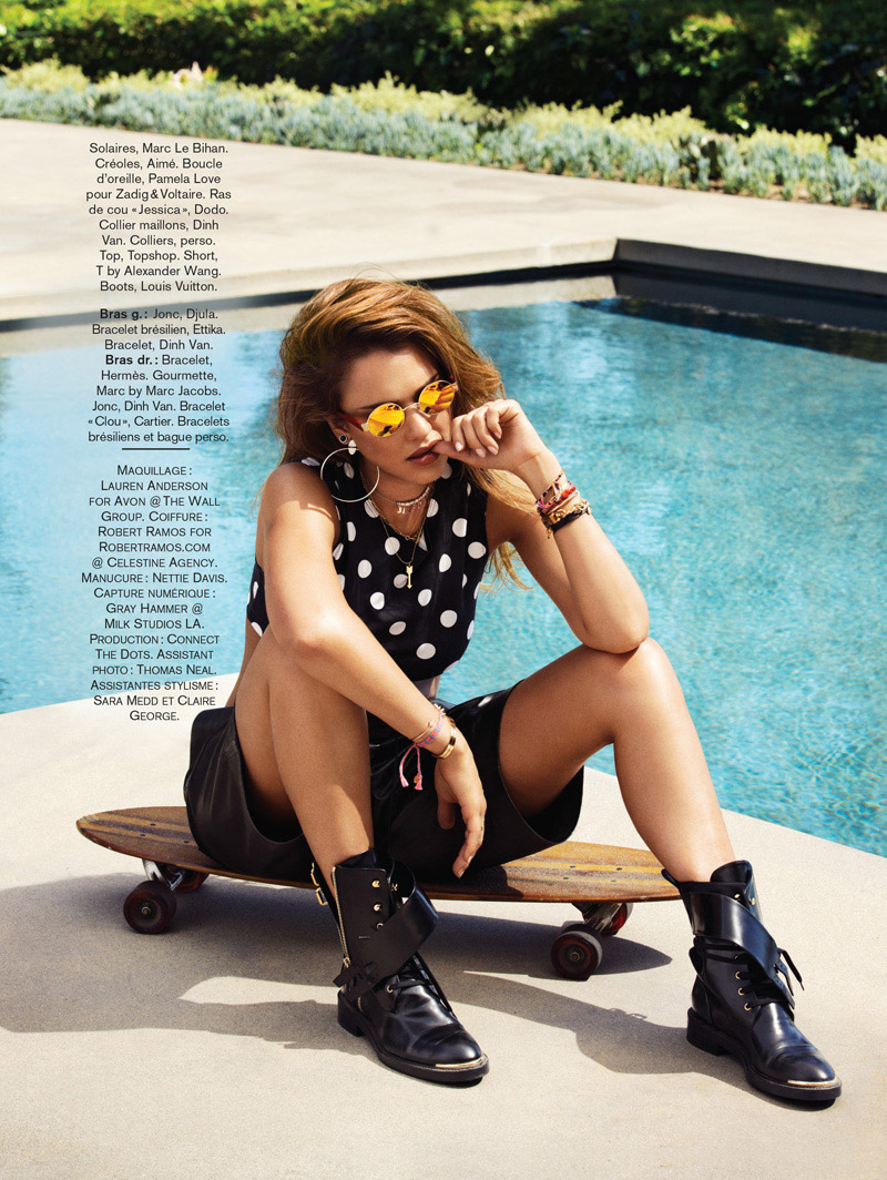 jessica alba jason kim6 Jessica Alba Stars in Glamour France August 2013 by Jason Kim