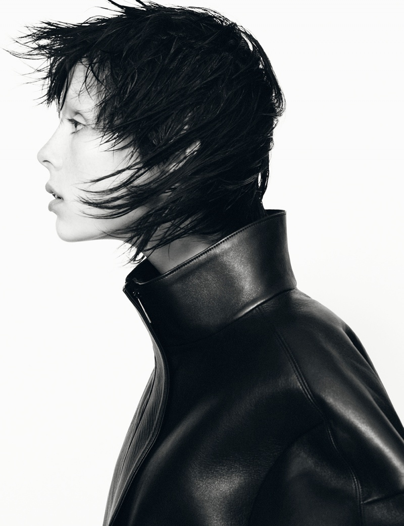 jil sander fw ads5 Jil Sander Taps Edie Campbell for Fall 2013 Campaign by David Sims