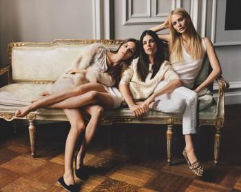 Joie Taps Julia Restoin Roitfeld, Poppy Delevingne and Anouck Lepere for Fall Ads