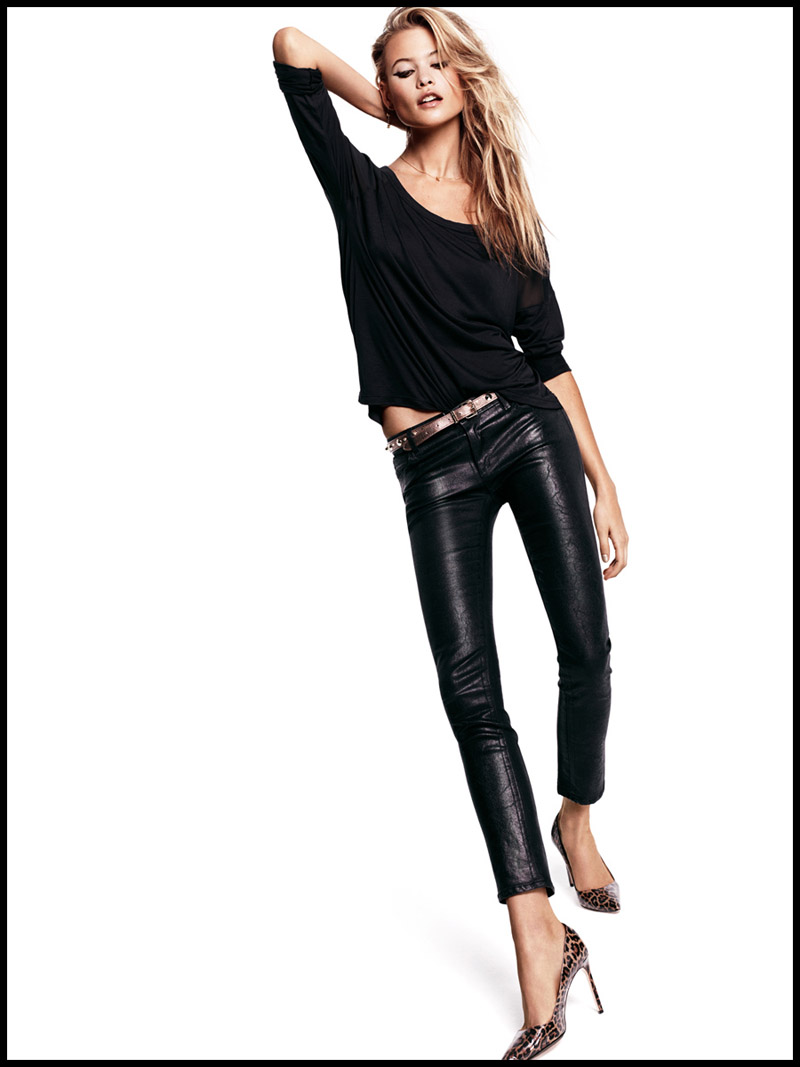 juicy jeans behati2 Behati Prinsloo Sizzles in Juicy Jeans Shoot for Fall