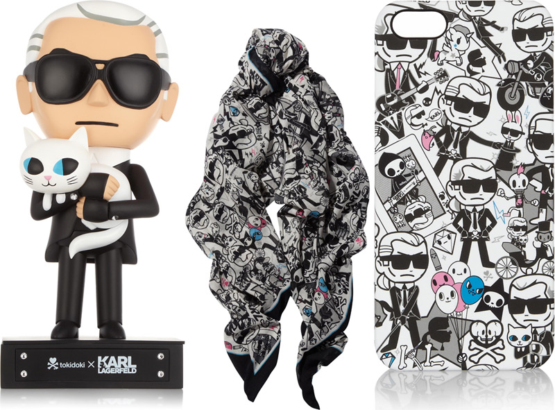 karl lagerfeld tokidoki6 Karl Lagerfeld Gets Miniaturized with Limited Edition Tokidoki Collection