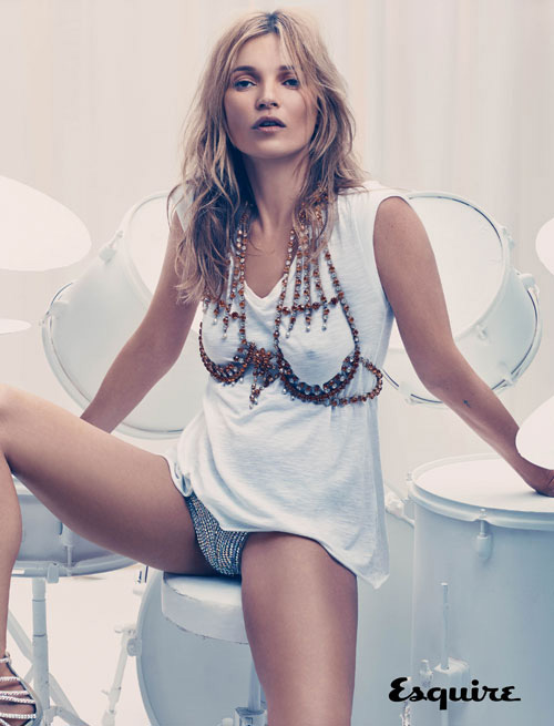 kate moss esquire Kate Moss Covers First Mens Magazine in 17 Years for Esquire UK September 2013