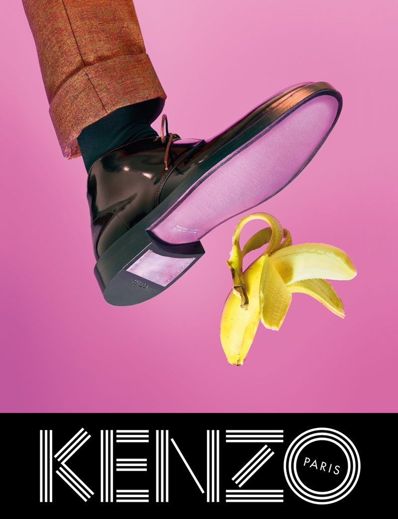 kenzo fall campaign6 Sean OPry Takes Flight for Kenzo Fall/Winter 2013 Campaign