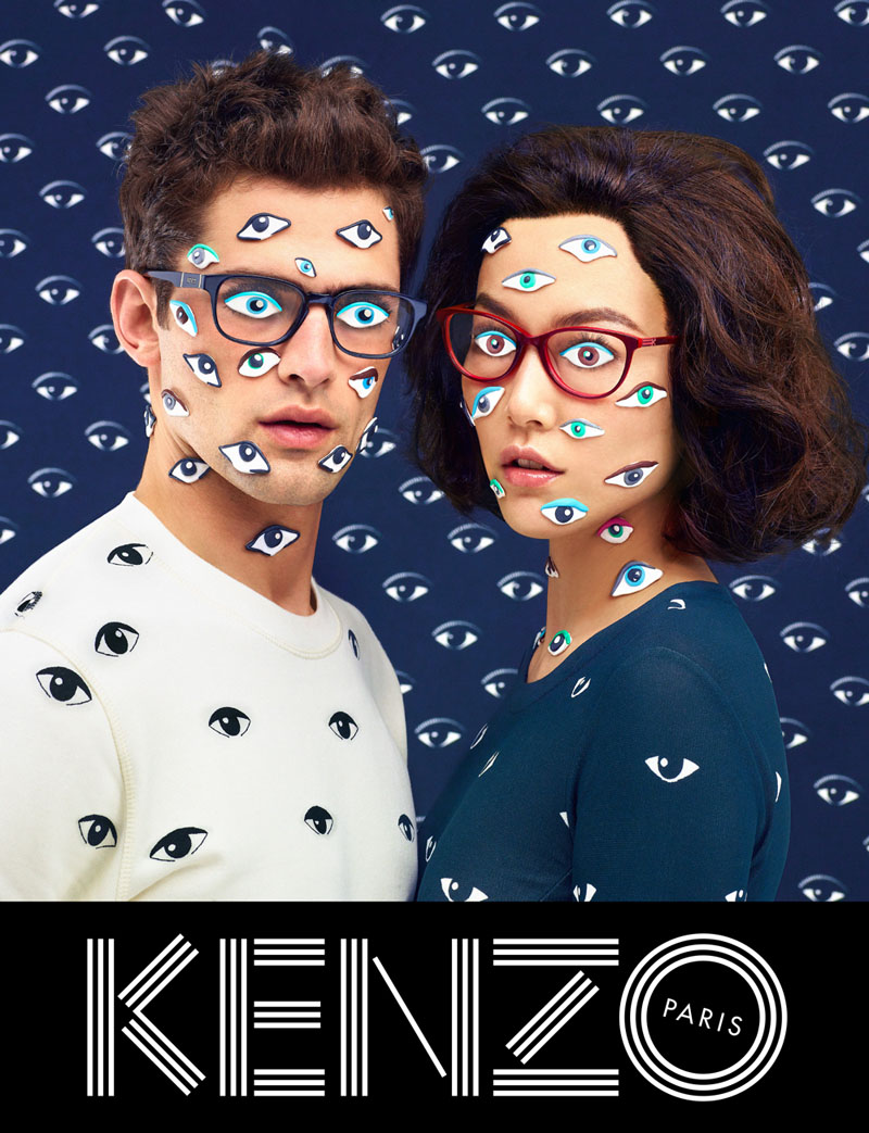 kenzo fall campaign7 Sean OPry Takes Flight for Kenzo Fall/Winter 2013 Campaign