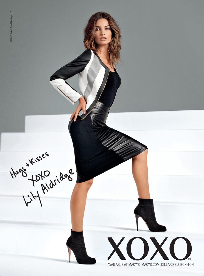Lily Aldridge Fronts XOXO Fall 2013 Campaign