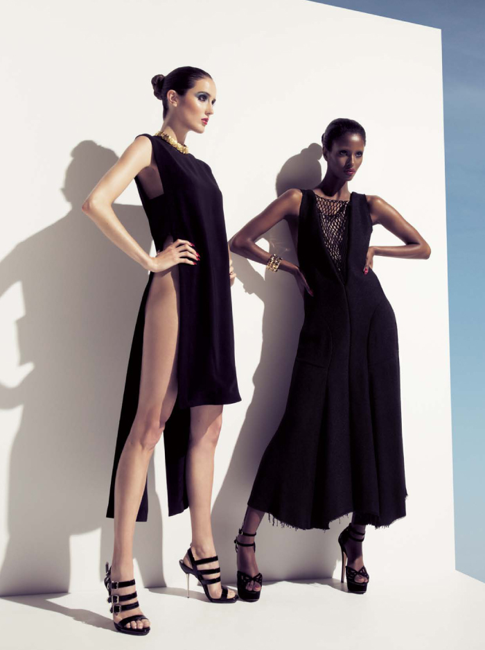 Lily & Lilac Shoot Senait & Amanda Laine for Dress To Kill Summer 2013