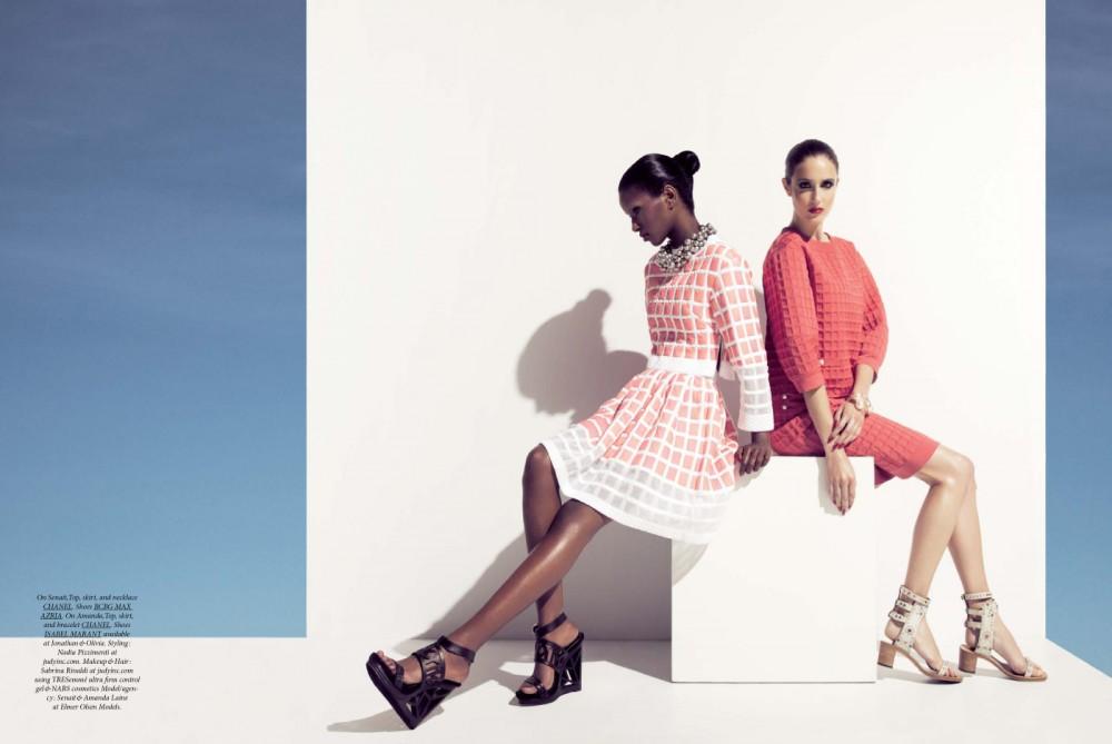 Lily & Lilac Shoot Senait & Amanda Laine for Dress To Kill Summer 2013