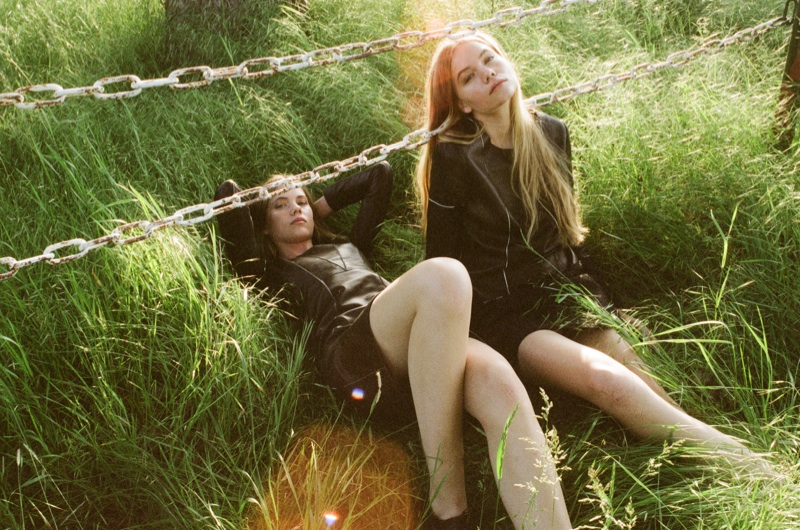 Inka and Neele Hoeper Pose for Lina Scheynius in Zeit Magazin
