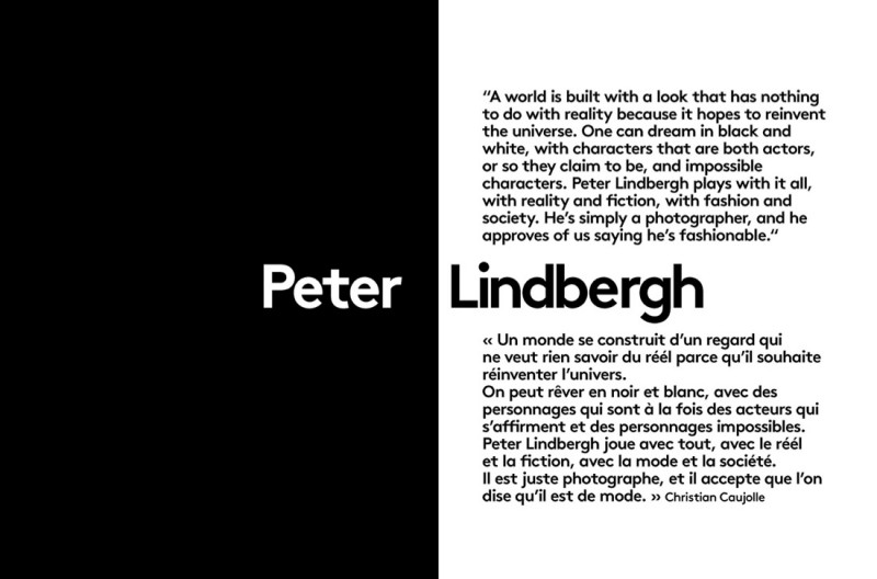 lindbergh retrospective2 800x528 See a Retrospective of Peter Lindberghs Work from More Magazine