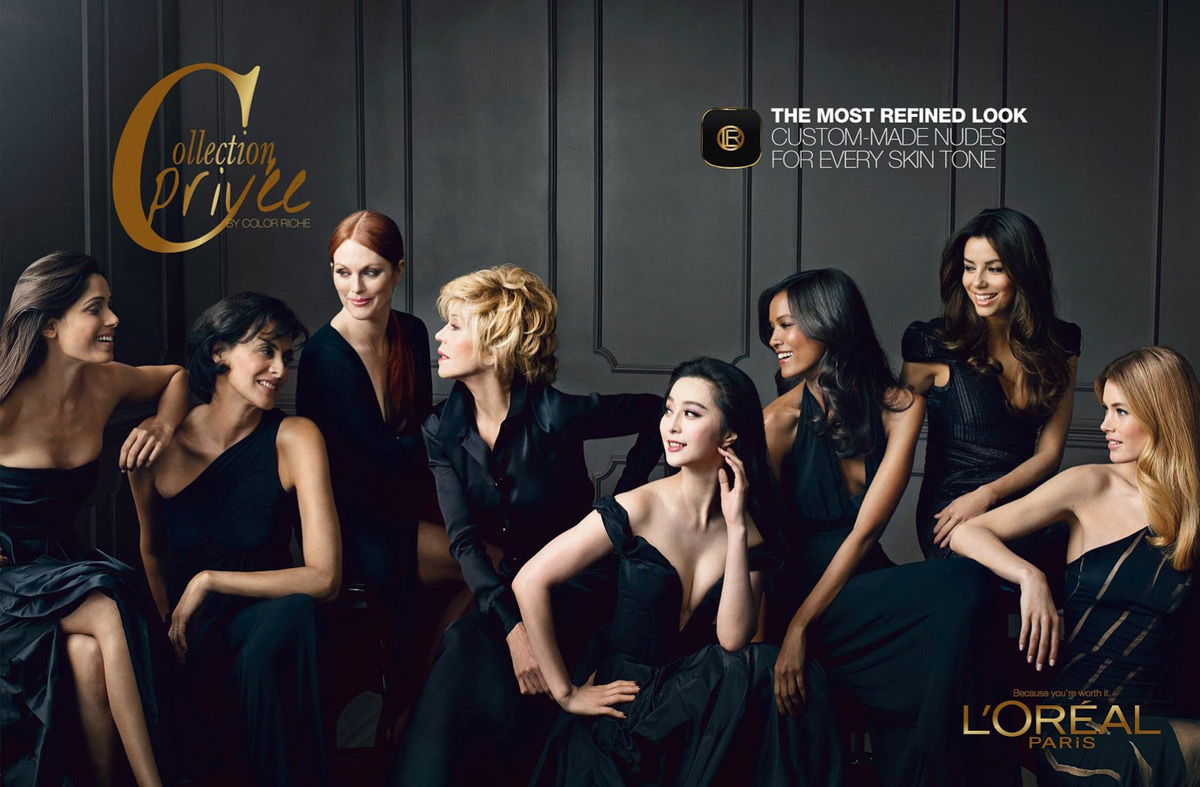 L'Oreal Faces Julianne Moore, Doutzen Kroes & More Pose for Color Riche Campaign