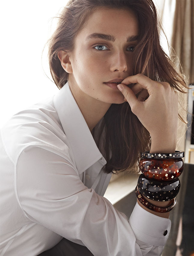 louis vuitton fall jewelry5 Andreea Diaconu Stars in Louis Vuitton F/W 2013 Jewelry Collection