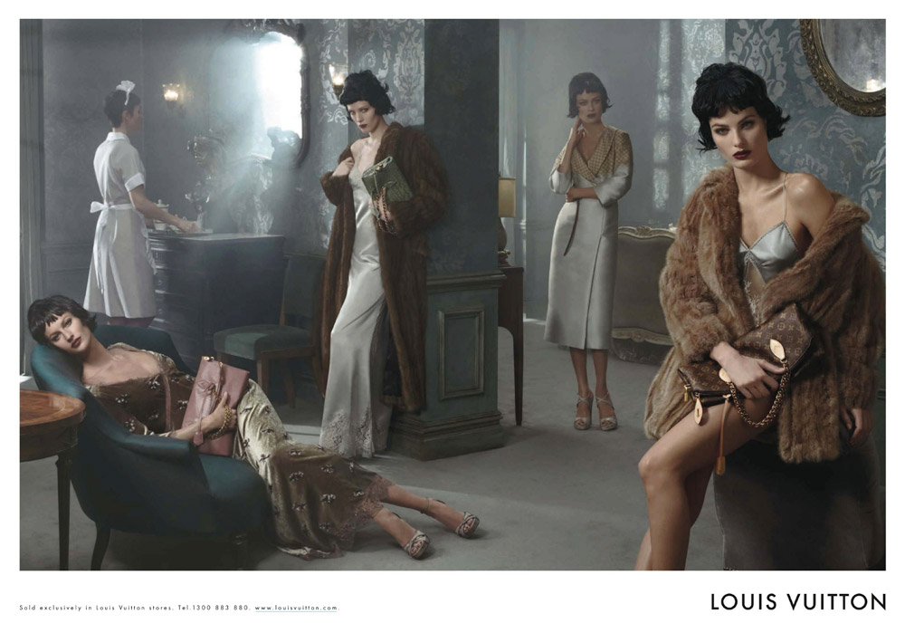 louis vuitton fall Gisele Bundchen, Karen Elson and More Star in Louis Vuitton Fall 2013 Campaign