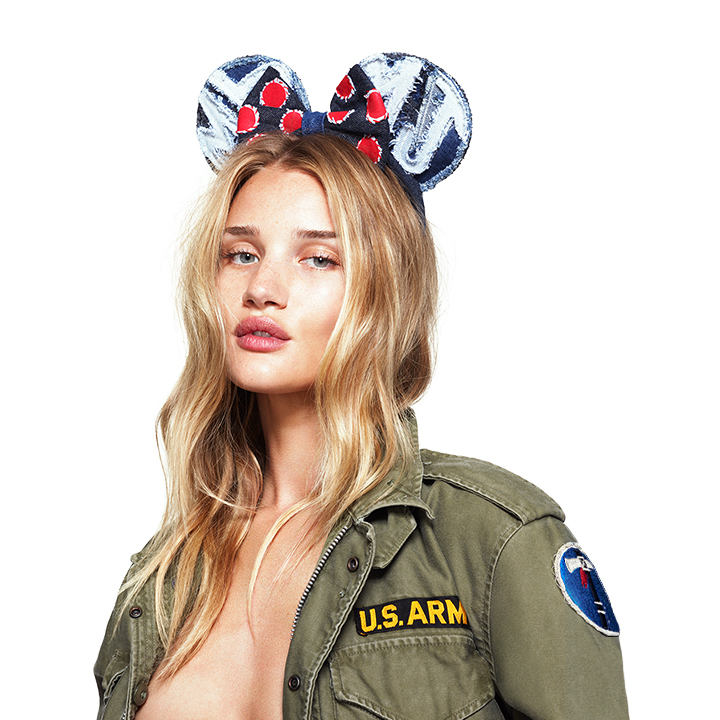 love magazine1 Cara Delevingne, Georgia May Jagger and More Sport Mouse Ears for Love #10