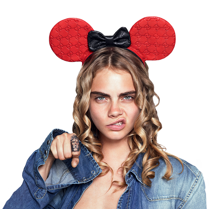 love magazine5 Cara Delevingne, Georgia May Jagger and More Sport Mouse Ears for Love #10