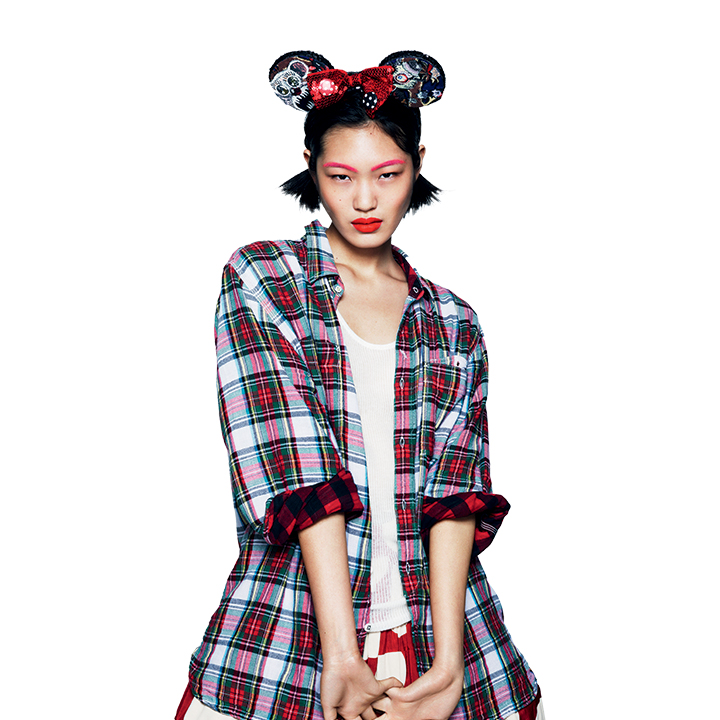 love magazine6 Cara Delevingne, Georgia May Jagger and More Sport Mouse Ears for Love #10