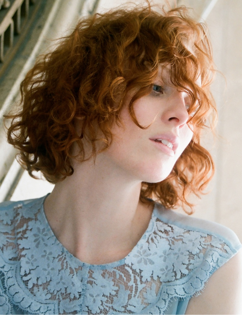 Karen Elson Stars in Lover's First Ever Campaign