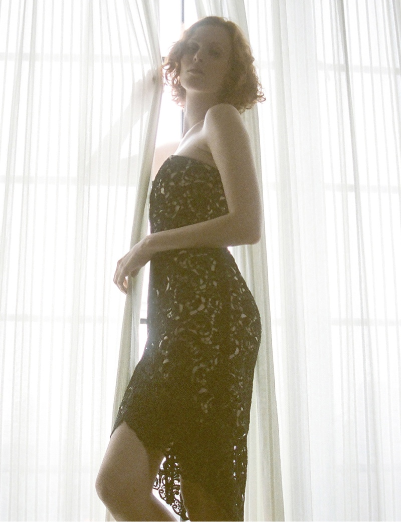 lover campaign karen elson11 Karen Elson Stars in Lovers First Ever Campaign