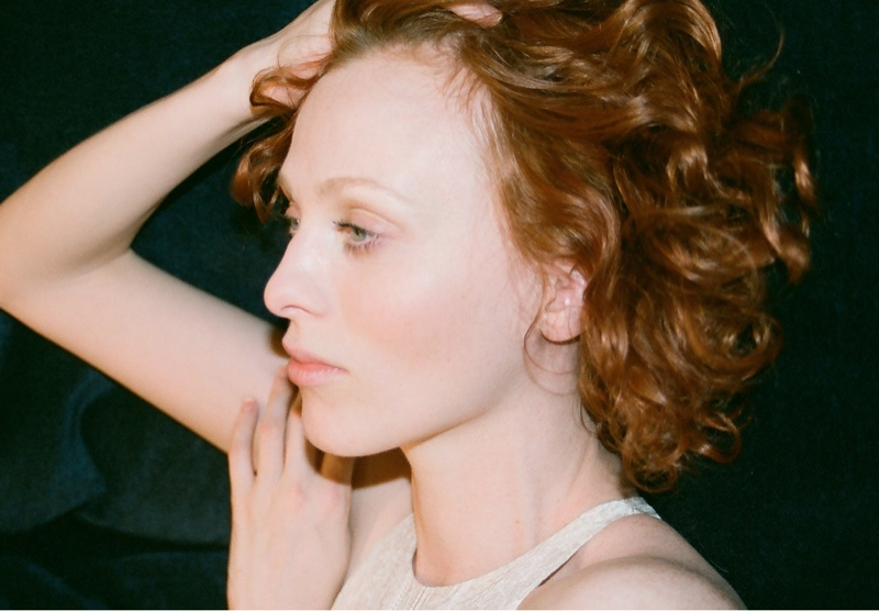 lover campaign karen elson2 Karen Elson Stars in Lovers First Ever Campaign