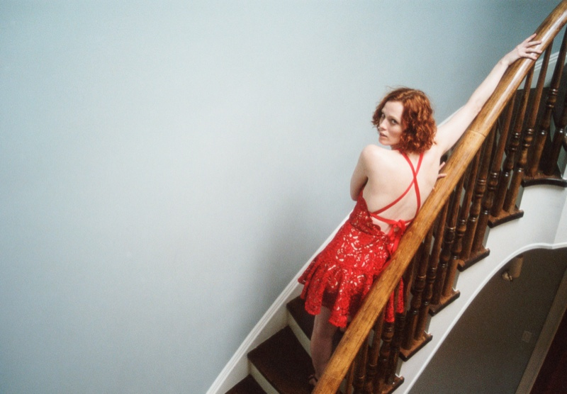 lover campaign karen elson3 Karen Elson Stars in Lovers First Ever Campaign