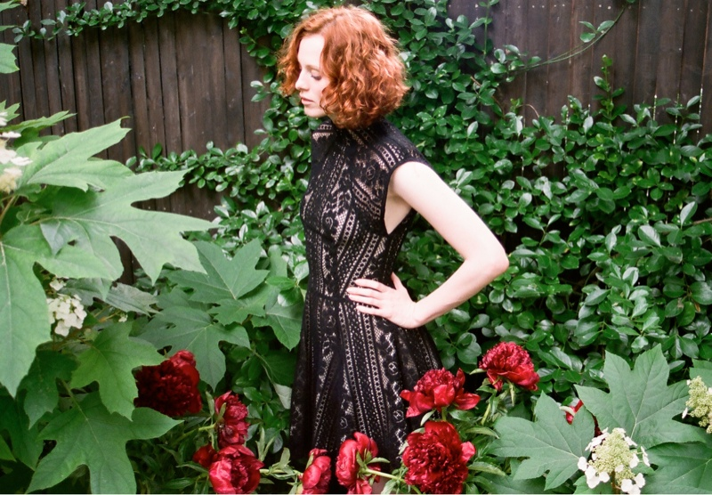 lover campaign karen elson4 Karen Elson Stars in Lovers First Ever Campaign