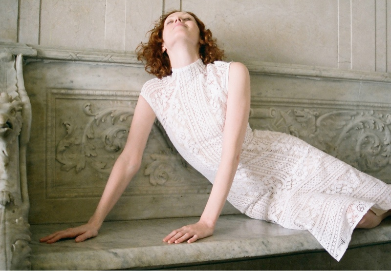 lover campaign karen elson5 Karen Elson Stars in Lovers First Ever Campaign