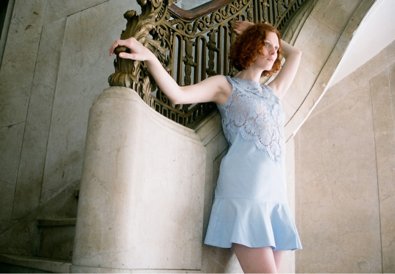 lover campaign karen elson6 Karen Elson Stars in Lovers First Ever Campaign