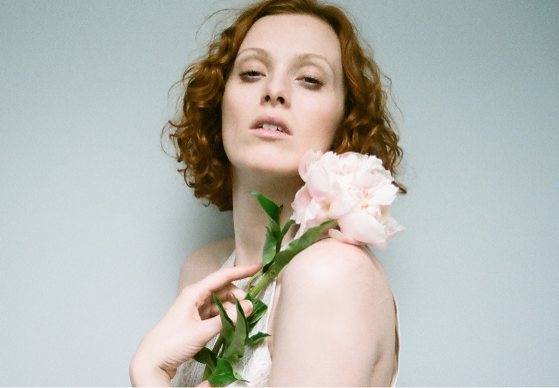 lover campaign karen elson7 Karen Elson Stars in Lovers First Ever Campaign