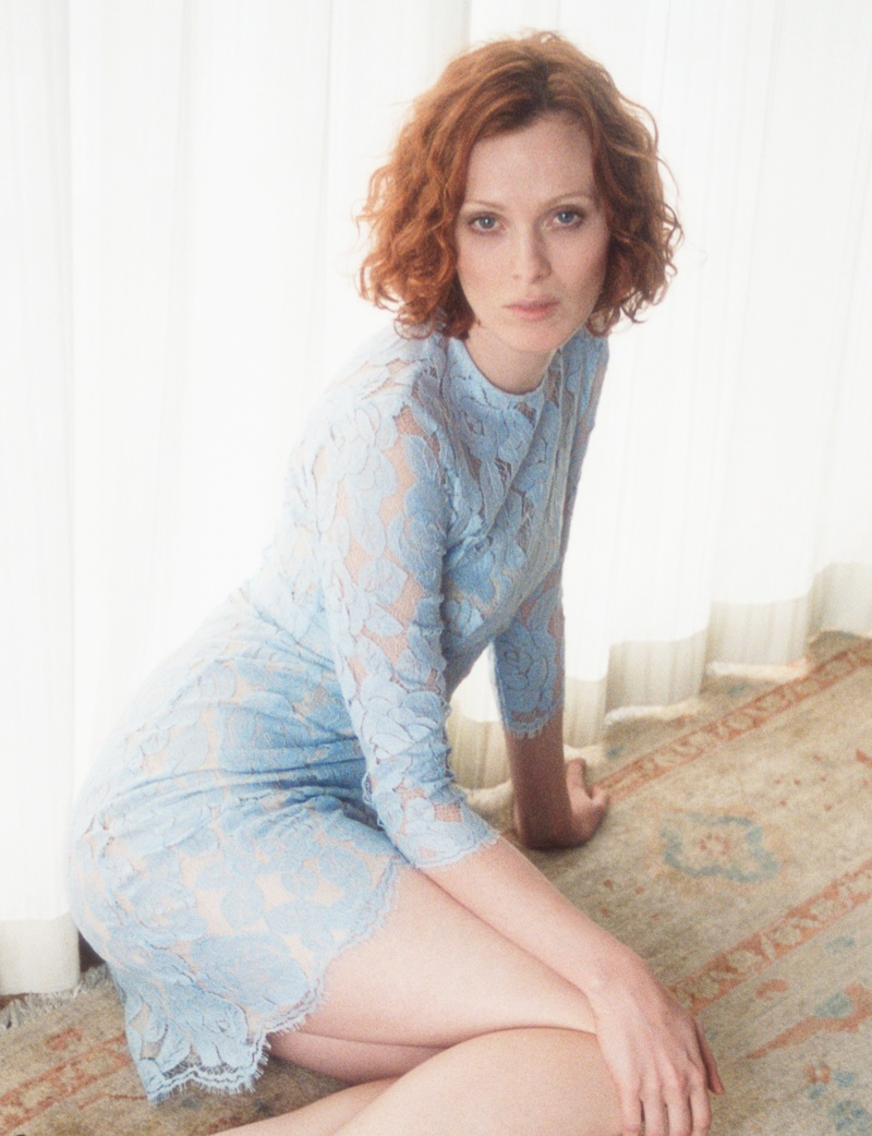 lover campaign karen elson8 Karen Elson Stars in Lovers First Ever Campaign